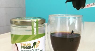 喝咖啡別加奶精,來試試公平貿易椰子油吧