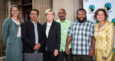 【2014公平貿易大事回顧之三】澳洲外交部以公平貿易,牽起印度太平洋的新夥伴關係