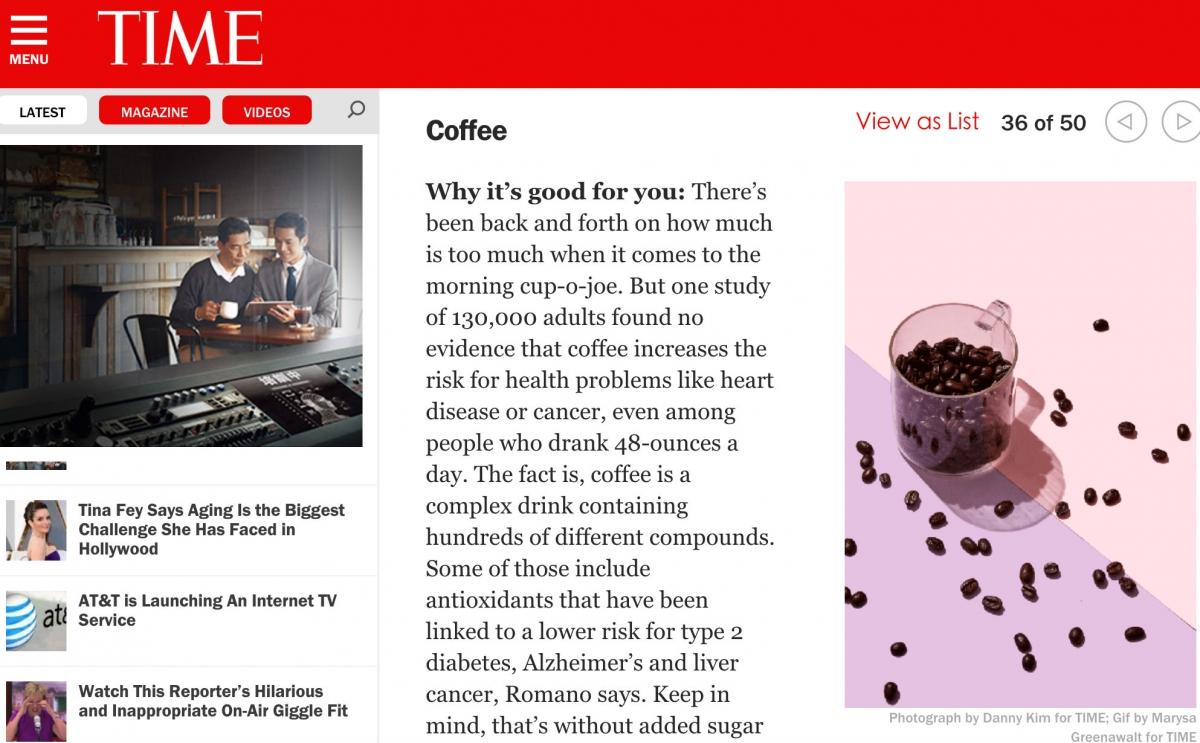 咖啡可降低阿茲海默症